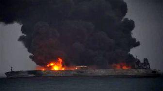 60 میلیون دلار نفت سوخت/جزئیات سانحه نفتکش ایرانی