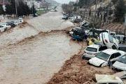 برخی از معابر شهر شیراز مسدود شد