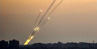 شلیک راکت از غزه به سوی صهیونیستها