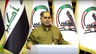 حضور نیروهای مردمی عراق در مرزهای مشترک با ایران