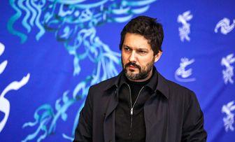 چهره جدی و متفکر «حامد بهداد» در جشنواره فجر 39/ عکس