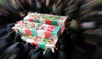 تشییع پیکر پاک شهدای حادثه تروریستی بعد از نماز جمعه