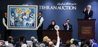 برگزاری حراج جنجالی تهران، در دی ماه