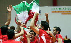 ایران بر بام والیبال نشسته جهان ایستاد