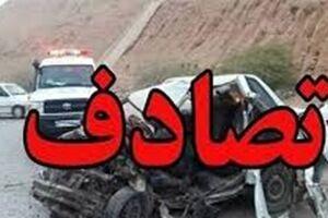 تصادف عجیب در خیابانی در تهران +عکس