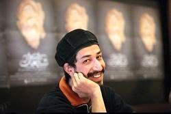 سلفی خندان قدبلندترین بازیگر ایرانی/عکس