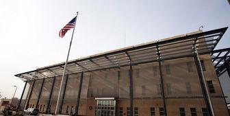 سفارت آمریکا پادگان شده است