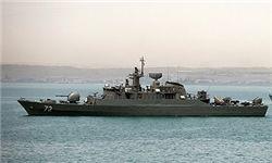 آژیر اعلام جنگ ناوگروه ارتش در خلیج عدن