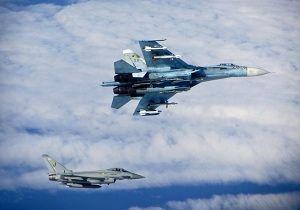 جنگندههای جاسوسی آمریکا و سوئد در مرزهای روسیه رصد شدند