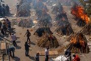 زن هندی قبل از سوزاندن شدن زنده شد!