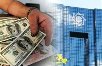 تناقض رفتار بانک مرکزی با گفتار روحانی درباره منابع ارزی