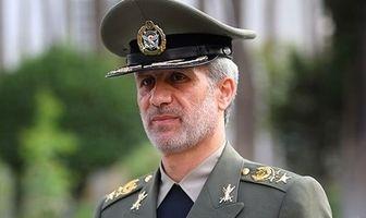 پیام تسلیت وزیر دفاع به سردار حاجیزاده