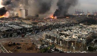 فیلمی جدید از انفجار بیروت