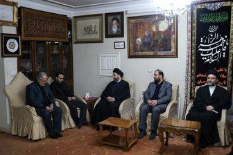 عمار حکیم در منزل سردار سلیمانی حضور یافت