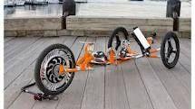 طراحیسهچرخه الکتریکی با قابلیت نشسته و ایستاده راندن