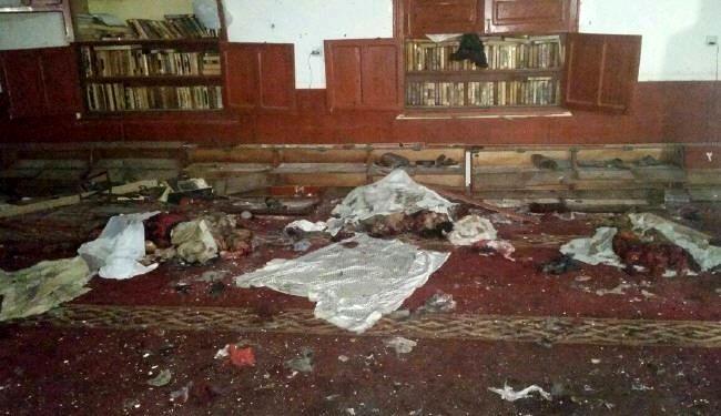 انفجار تروریستی در مسجد موید صنعا - چهارشنبه 11 شهریور 94