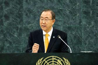 واکنش بان کی مون به حملات روسیه در سوریه