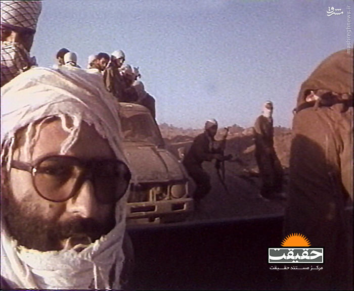 عکس دیدهنشده از شهید مرتضی آوینی