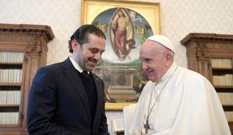 پاپ پس از تشکیل دولت به لبنان سفر میکند