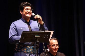 اجرای موسیقی کردی در سالن میلاد نمایشگاه تهران