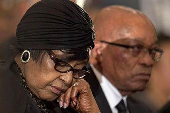 همسر جنجالی نلسون ماندلا درگذشت