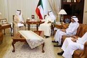 پیام شاه عربستان به امیر کویت
