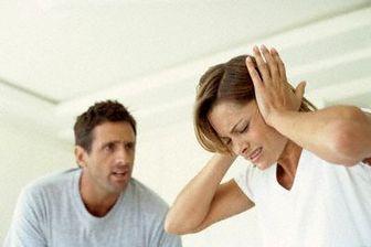 مواجهه با همسر پرخاشگر