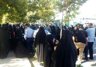 حضور فرهنگیان مقابل دفتر سازمان ملل در حمایت از مردم مظلوم یمن