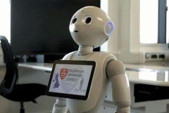 برای اولین بار در جهان/حضور یک ربات در پارلمان انگلیس!