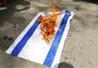 به آتشکشیدن گذرنامههای اسرائیلی