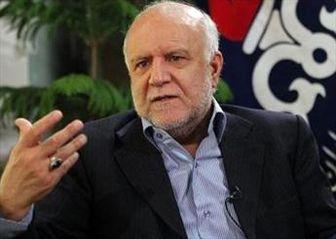 زنگنه: صادرات میعانات گازی ایران متوقف می شود