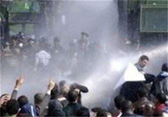درگیری شدیدپلیس دانشجویان در میدان التحریر