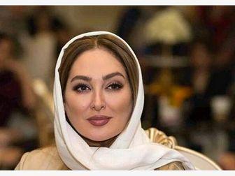 شباهت عجیب لباس «الهام حمیدی» درجشن حافظ با یک خواننده خارجی