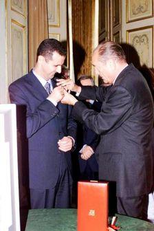 فرانسه نشان شوالیه را از اسد پس میگیرد