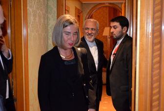 ظریف در ژنو با موگرینی دیدار کرد