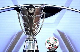اعلام زمان برگزاری جام ملتهای آسیا