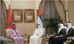 دیدار شاه مغرب با ولیعهد ابوظبی