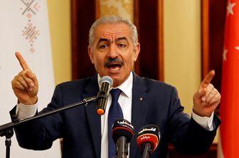 نخست وزیر فلسطین خواستار مقابله جهان با طرح الحاق کرانه باختری شد