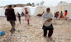 استیلی، باقری و مهدویکیا در جمع زلزلهزدگان
