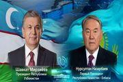 رایزنی تلفنی رئیس جمهور ازبکستان و پیشوای قزاقستان