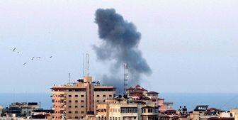 حمله هوایی اسرائیل به شمال غزه
