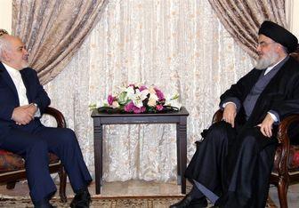 دیدار ظریف با دبیرکل حزبالله