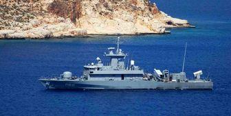 رهگیری یک فروند شناور موشک انداز یونان توسط نیروی دریایی روسیه