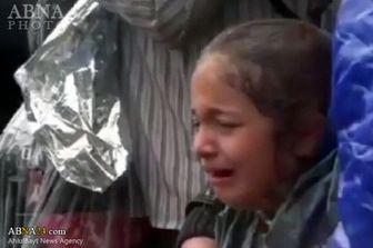 کودکان آواره سوری زیر باتوم پلیس / فیلم