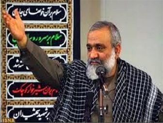سردار نقدی سخنران ویژه روز قدس در مشهد
