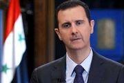 واکنش بشار اسد به سرنگونی هواپیمای نظامی روسیه