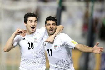 جشن دوستانه بازیکنان تیم ملی فوتبال /عکس