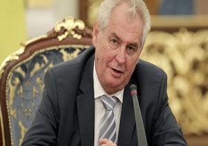 رئیسجمهور چک تلاش غرب برای سرنگونی اسد را غیرسازنده خواند