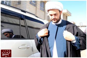 دبیرکل نُجَباء وارد ایران شد