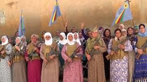 شیوه مبارزه یک زن عراقی با داعش در کوبانی